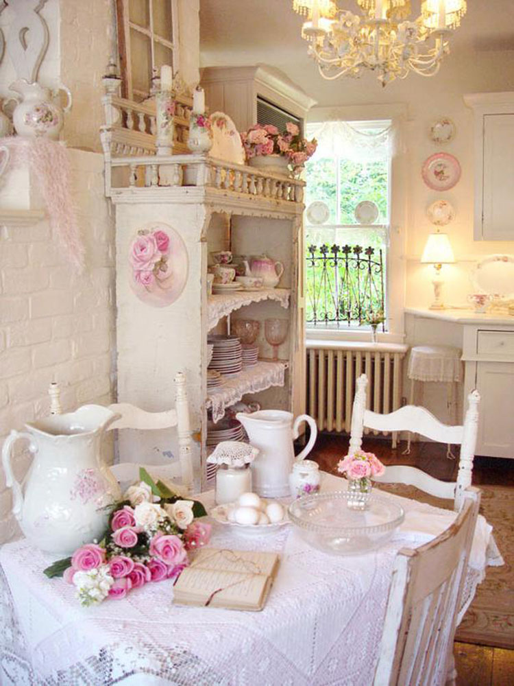 Cucina shabby chic in stile provenzale n.06