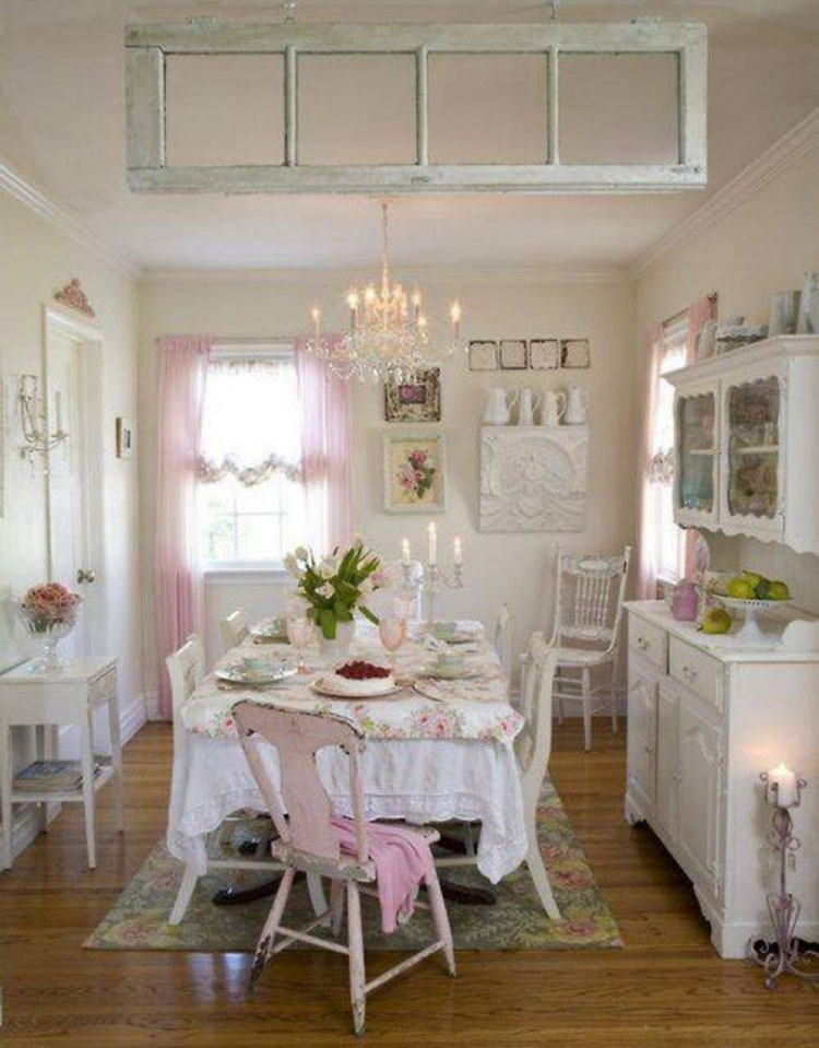 Cucina shabby chic in stile provenzale n.09