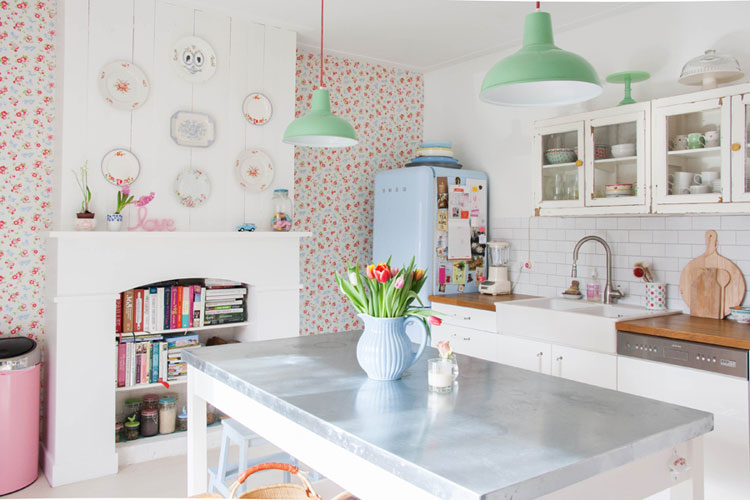 Cucina shabby chic in stile provenzale n.15