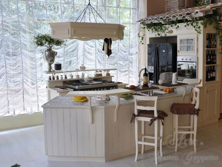 Cucina shabby chic in stile provenzale n.22