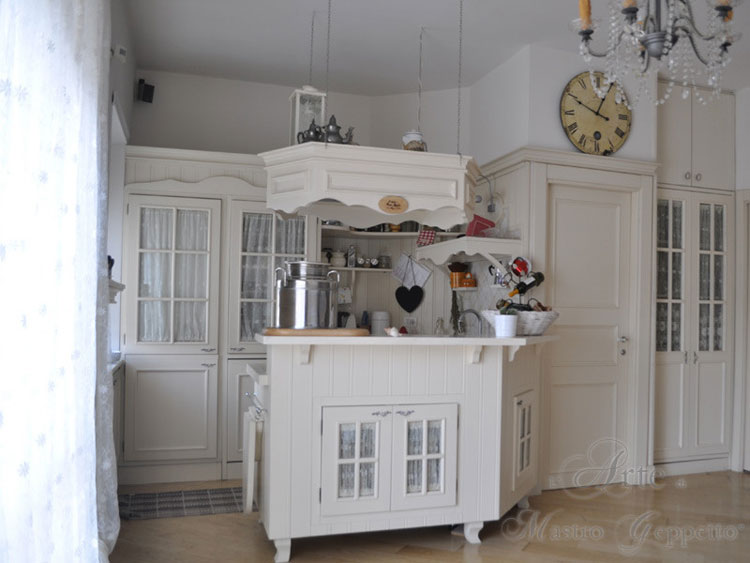 Cucina shabby chic in stile provenzale n.24