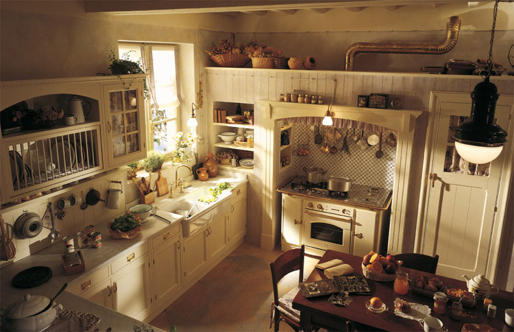 Cucina shabby chic in stile provenzale n.25