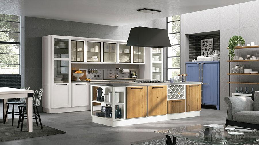 Modello di cucina shabby chic Lube n.5
