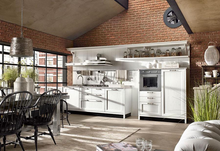 Modello di cucina shabby chic Marchi Cucine n.1