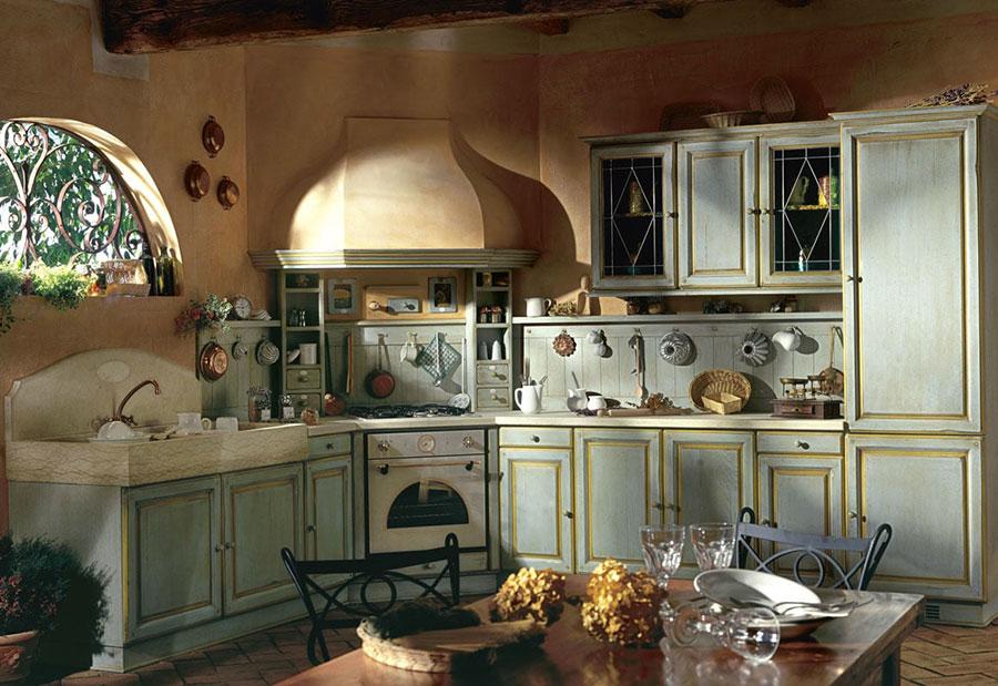 Modello di cucina shabby chic Marchi Cucine n.2