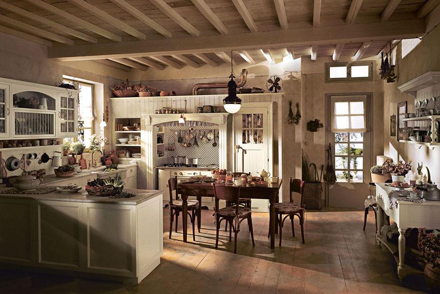 Modello di cucina shabby chic Marchi Cucine n.4