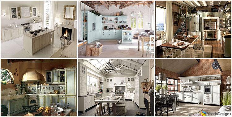 Cucine shabby chic 50 idee per arredare casa in stile for Provenzale arredamento