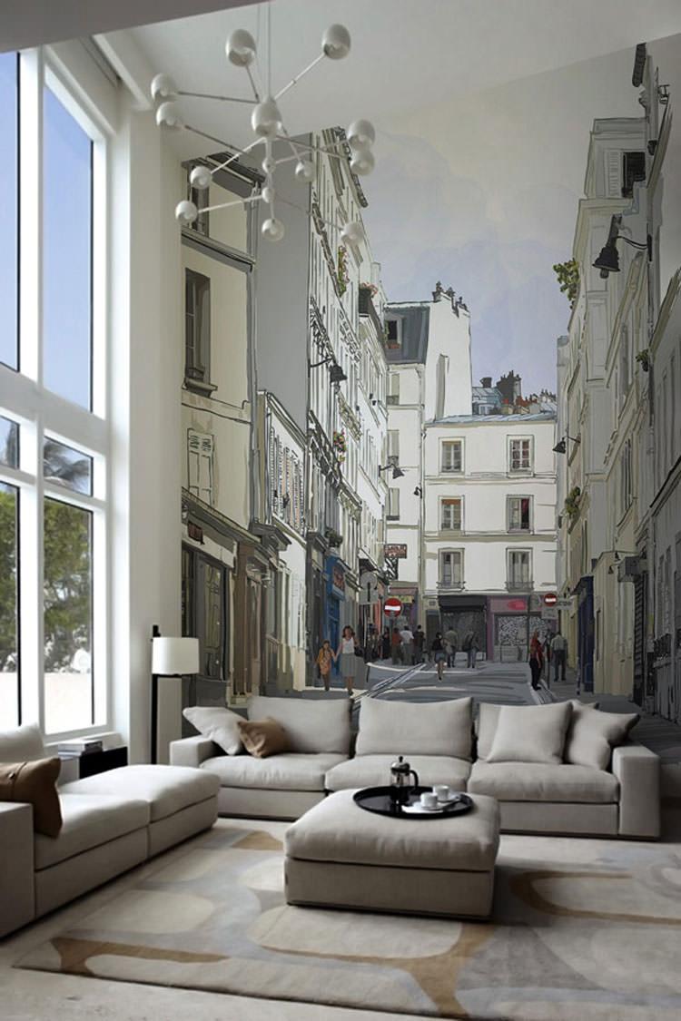 Disegni murali per decorare gli interni n.01
