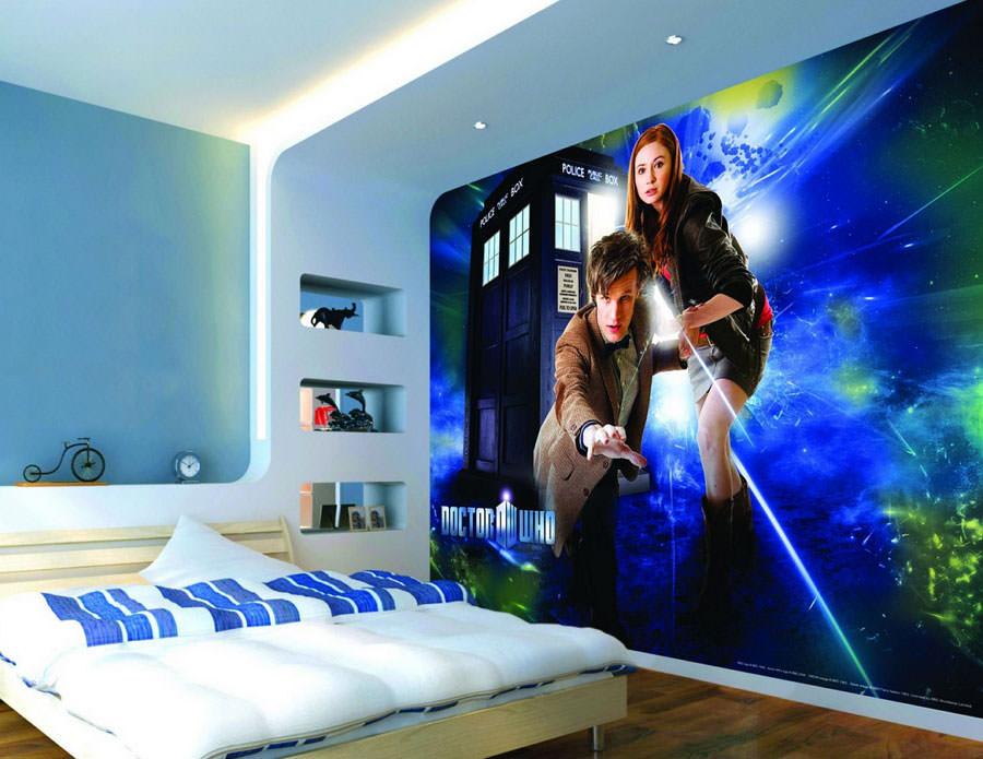Disegni murali per decorare gli interni n.04