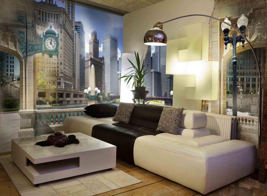 Disegni murali per decorare gli interni n.07