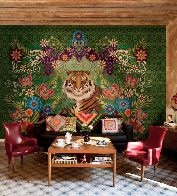 Disegni murali per decorare gli interni n.12