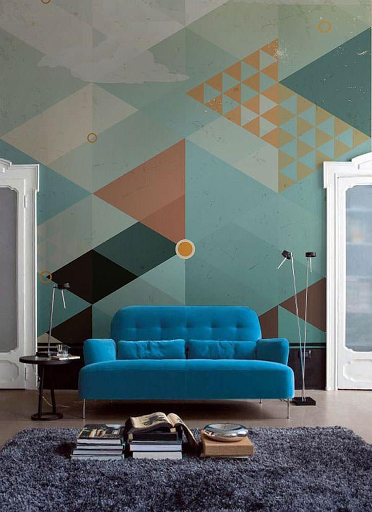 Disegni murali per decorare gli interni n.14