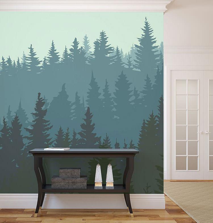 Disegni murali per decorare gli interni n.16