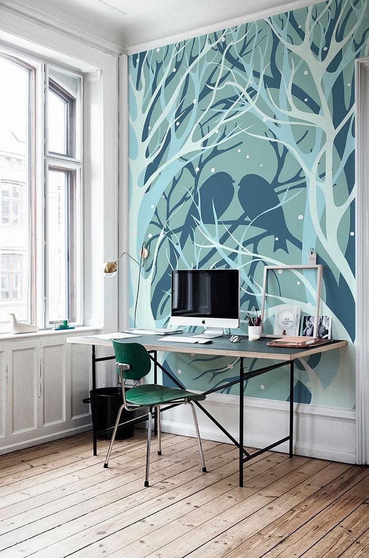 Disegni murali per decorare gli interni n.17