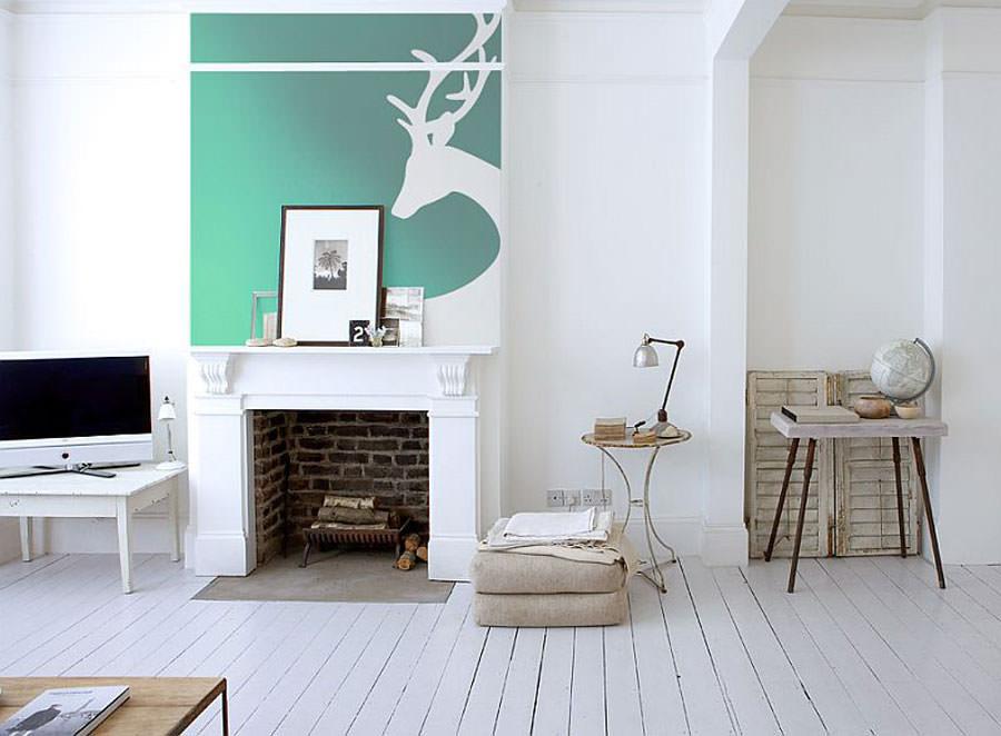 Disegni murali per decorare gli interni n.18