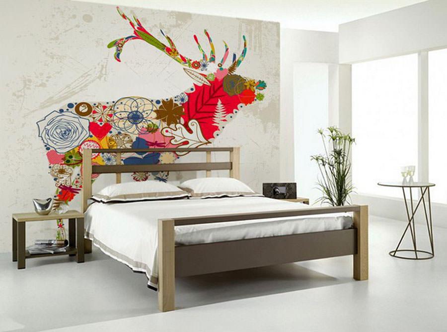 Disegni murali per decorare gli interni n.20
