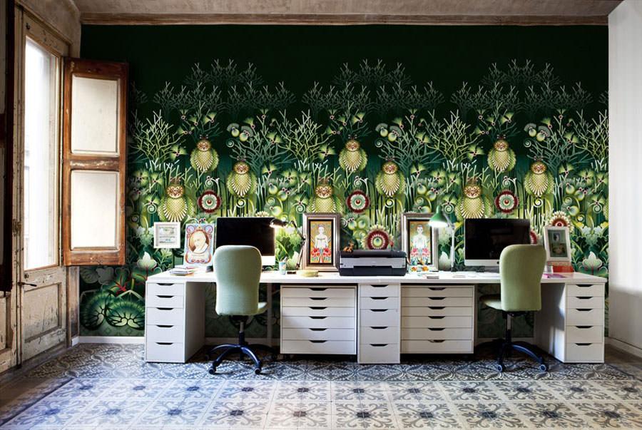 Disegni murali per decorare gli interni n.21