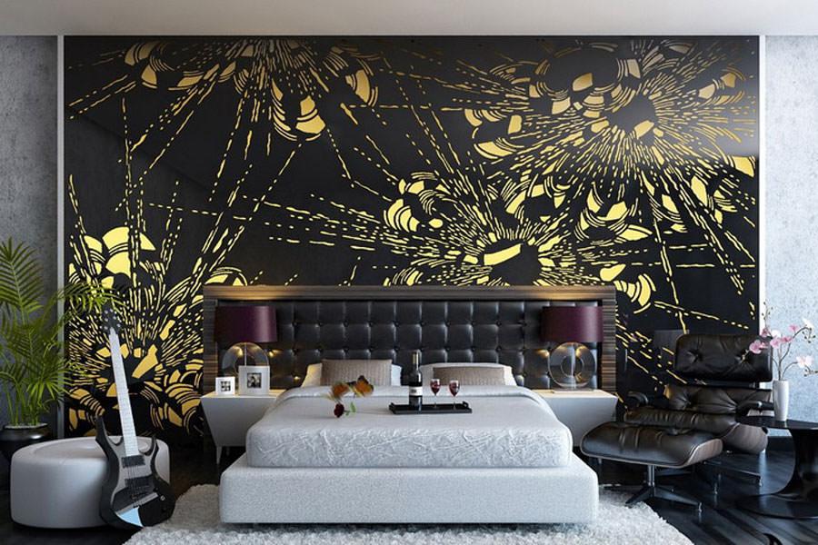 Disegni murali per decorare gli interni n.22