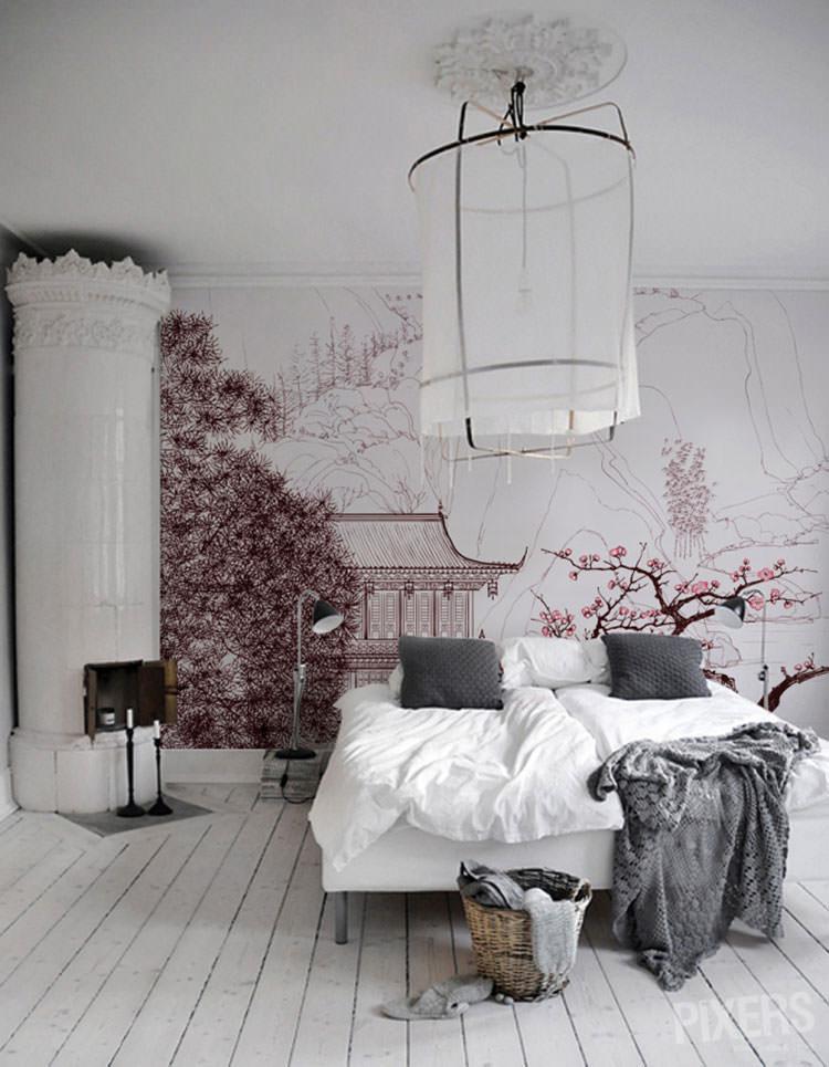 Disegni murali per decorare gli interni n.30