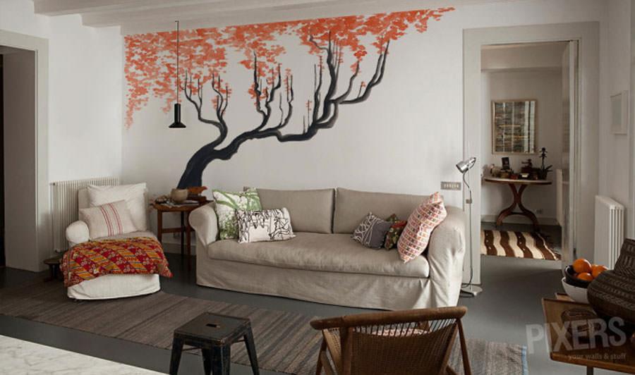 Disegni murali per decorare gli interni n.31