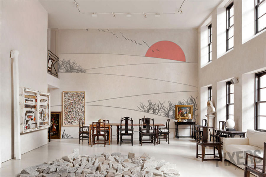 Disegni murali per decorare gli interni n.32