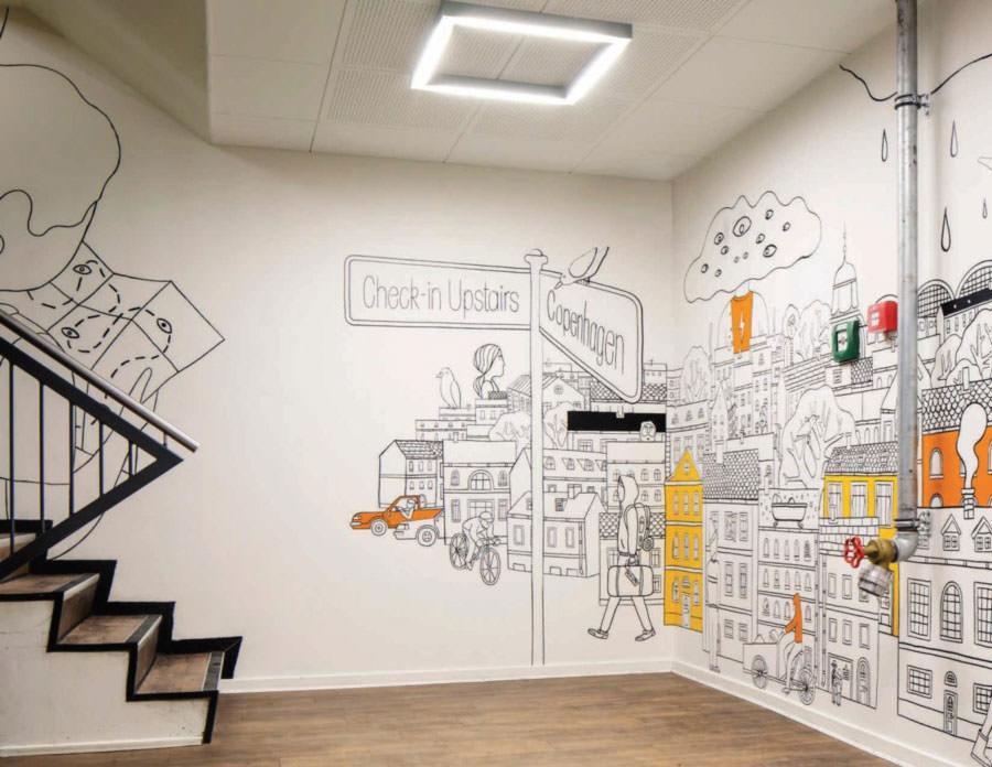 Disegni murali per decorare gli interni n.34