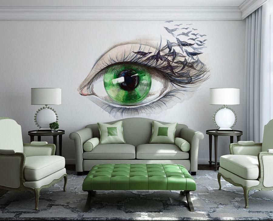 Disegni murali per decorare gli interni n.36