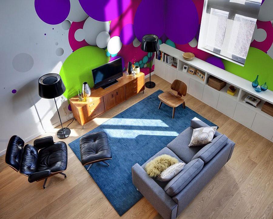 Disegni murali per decorare gli interni n.43