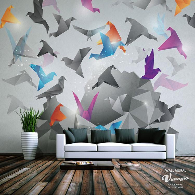 Disegni murali per decorare gli interni n.57