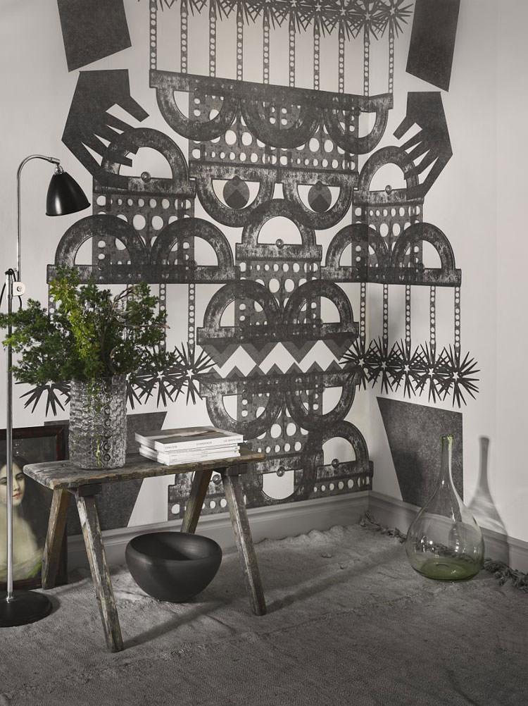 Disegni murali per decorare gli interni n.61