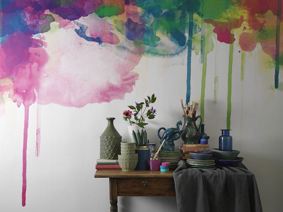 Disegni murali per decorare gli interni n.64