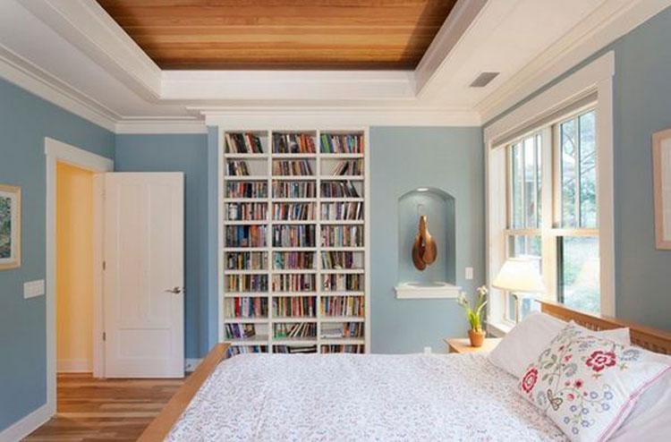 Libreria per camera da letto n.02
