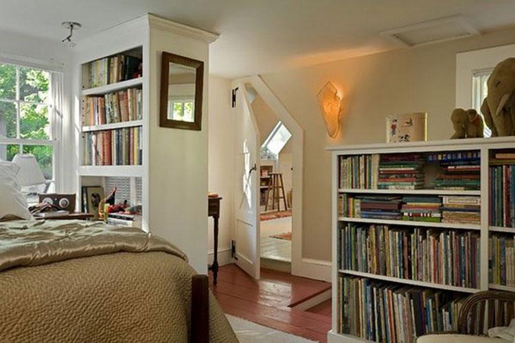 Libreria per camera da letto n.04