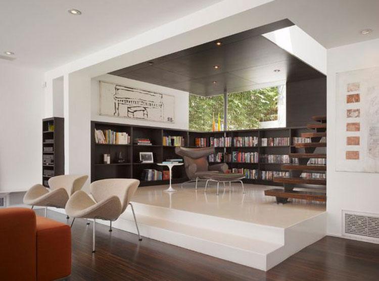 62 idee di design per le librerie della vostra casa for Idee design casa