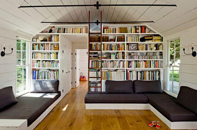 Libreria per sala lettura n.02