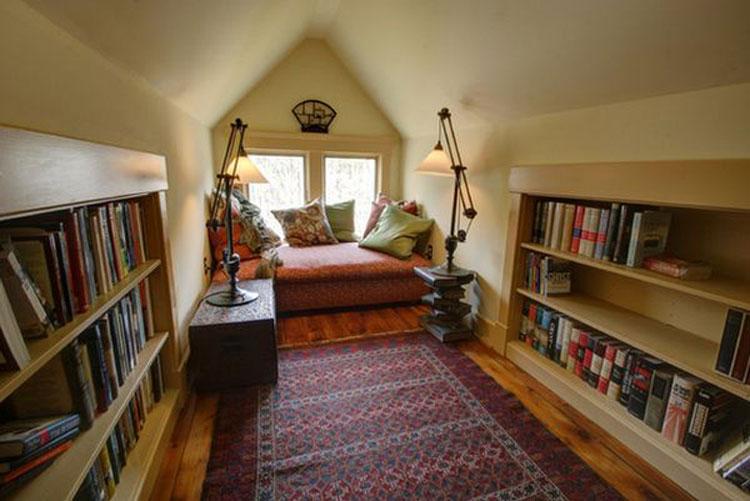 Libreria per sala lettura n.04
