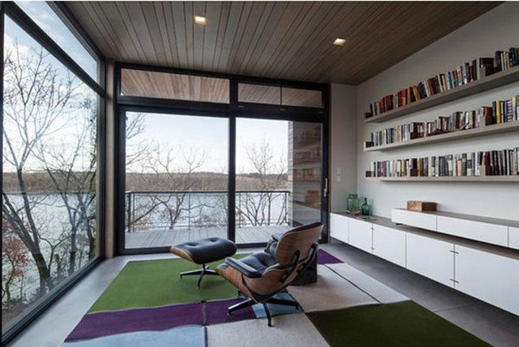 Libreria per sala lettura n.05