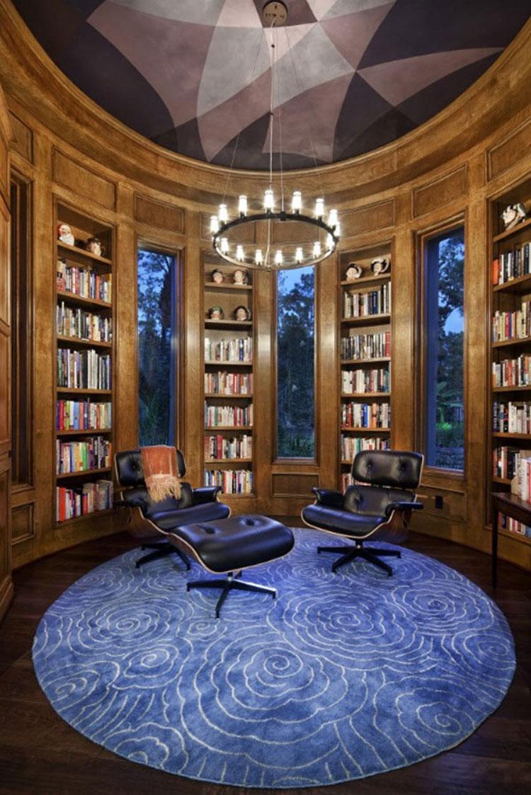 Libreria per sala lettura n.09