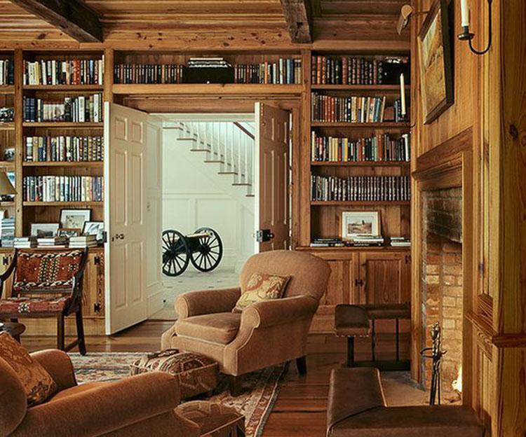 Libreria sopra porta n.02
