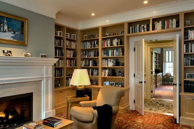 Libreria sopra porta n.05