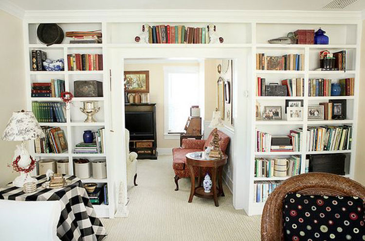 Libreria sopra porta n.06