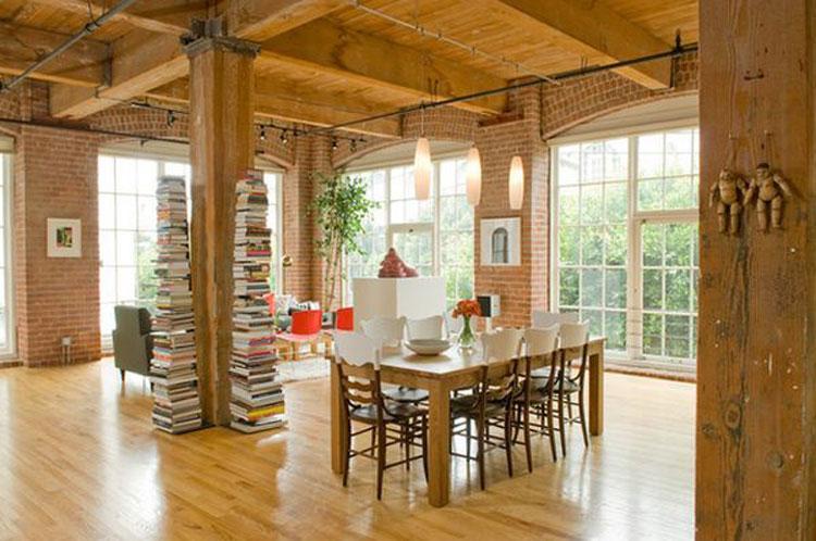 Libreria costruita in verticale n.01