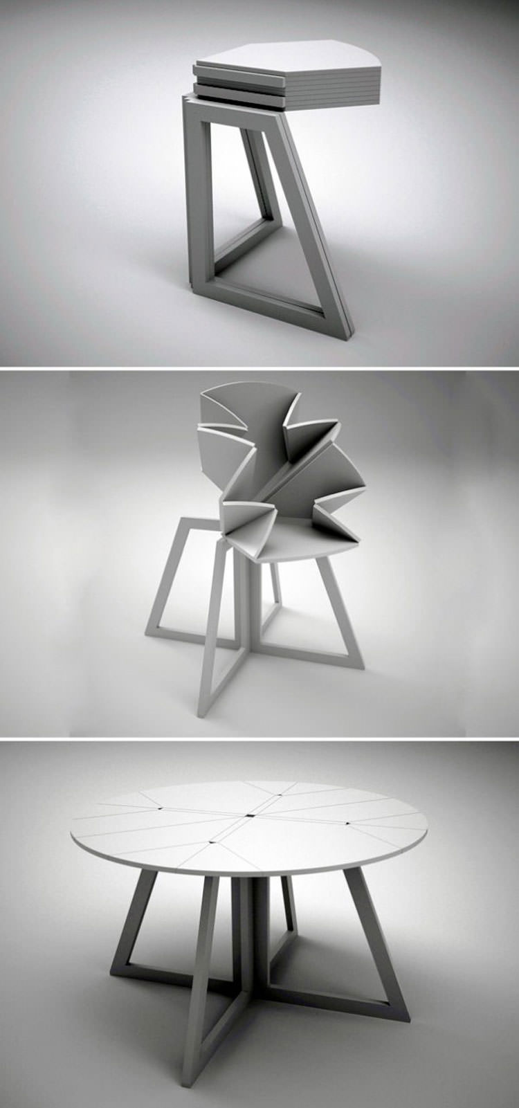 Tavolo allungabile dal design moderno n.02