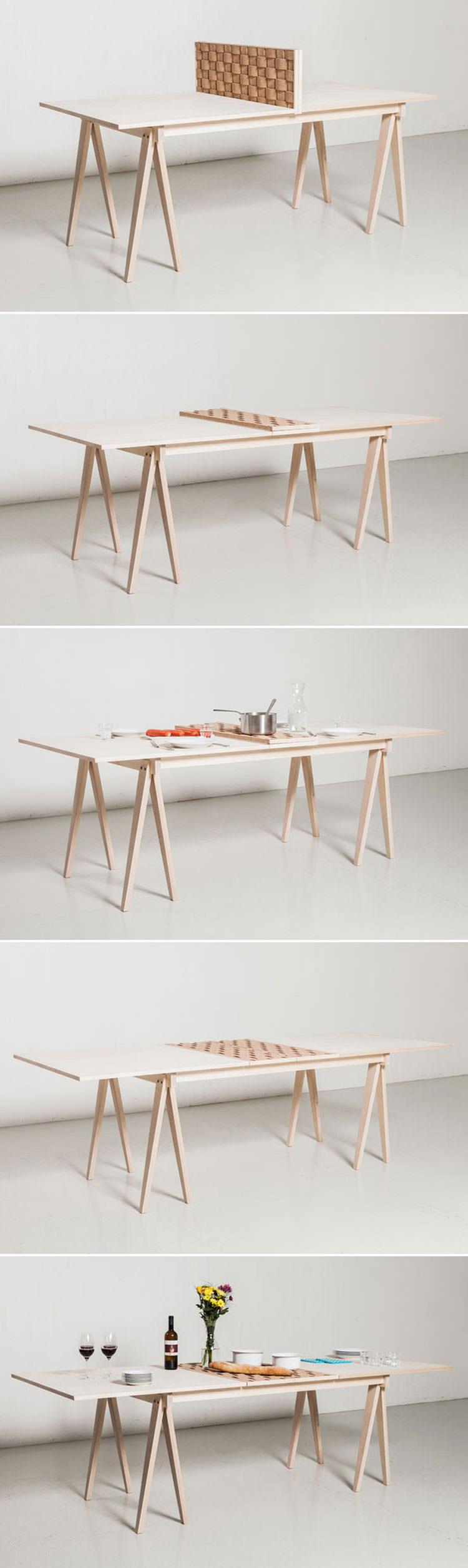 Tavolo allungabile dal design moderno n.03