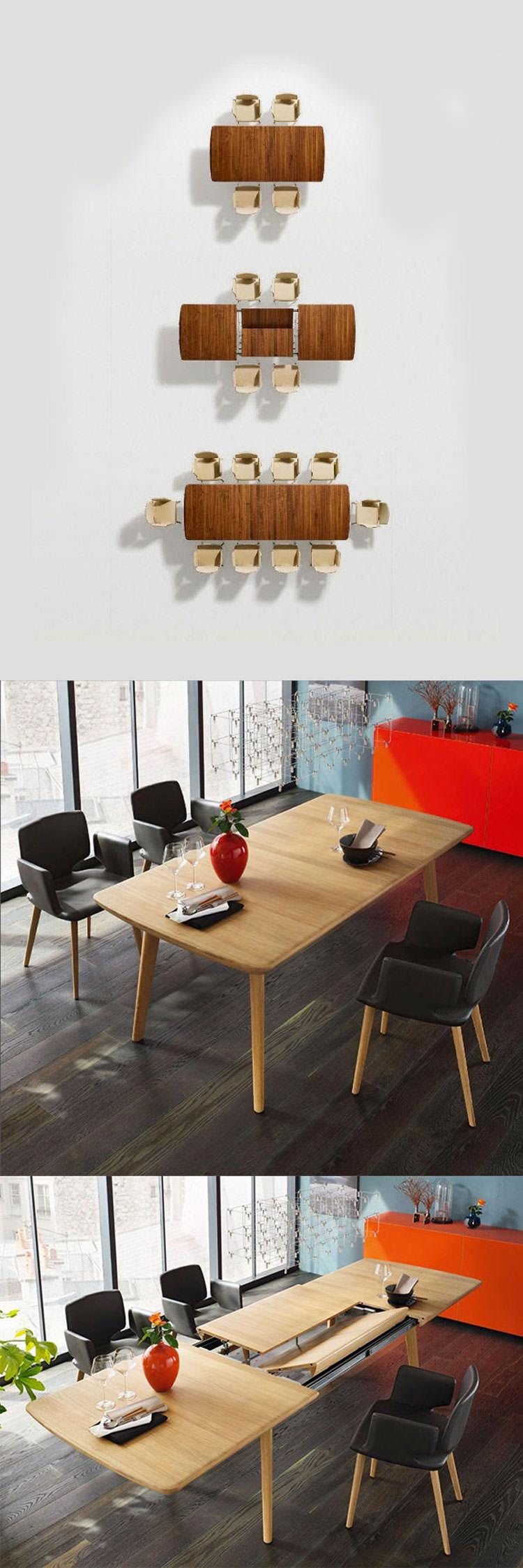 Tavolo allungabile dal design moderno n.06