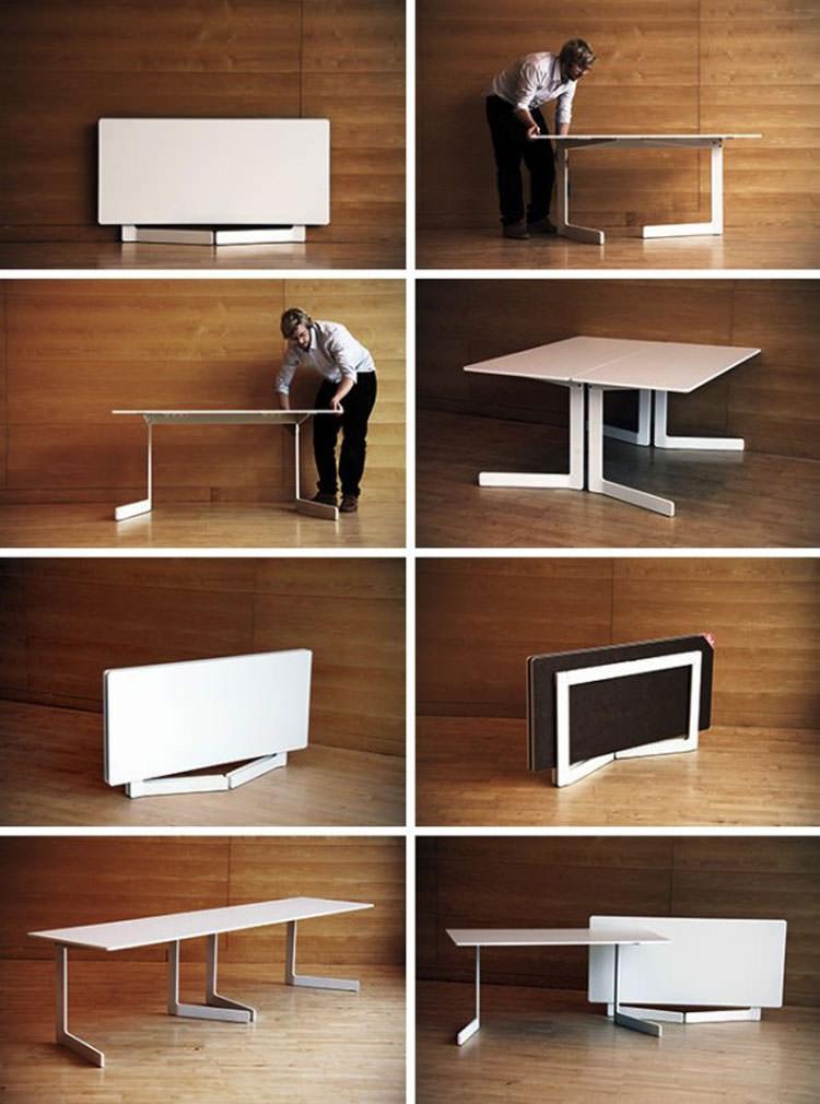 Tavolo allungabile dal design moderno n.17