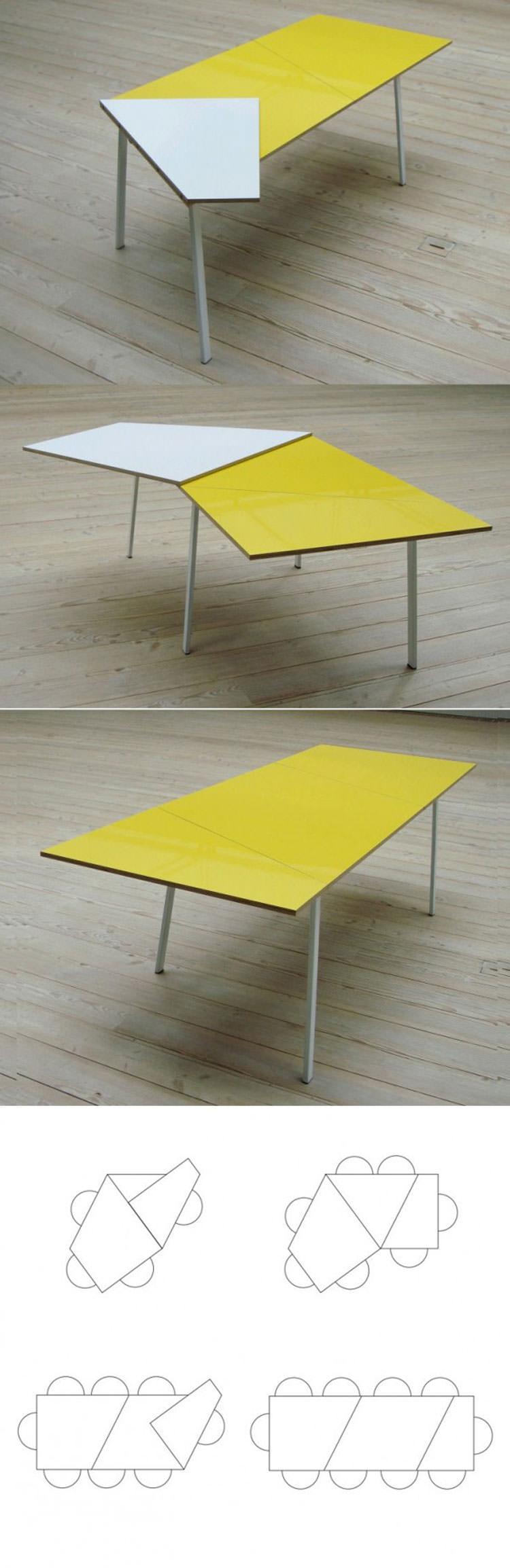 Tavolo allungabile dal design moderno n.18