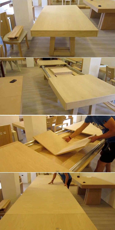Tavolo allungabile dal design moderno n.21