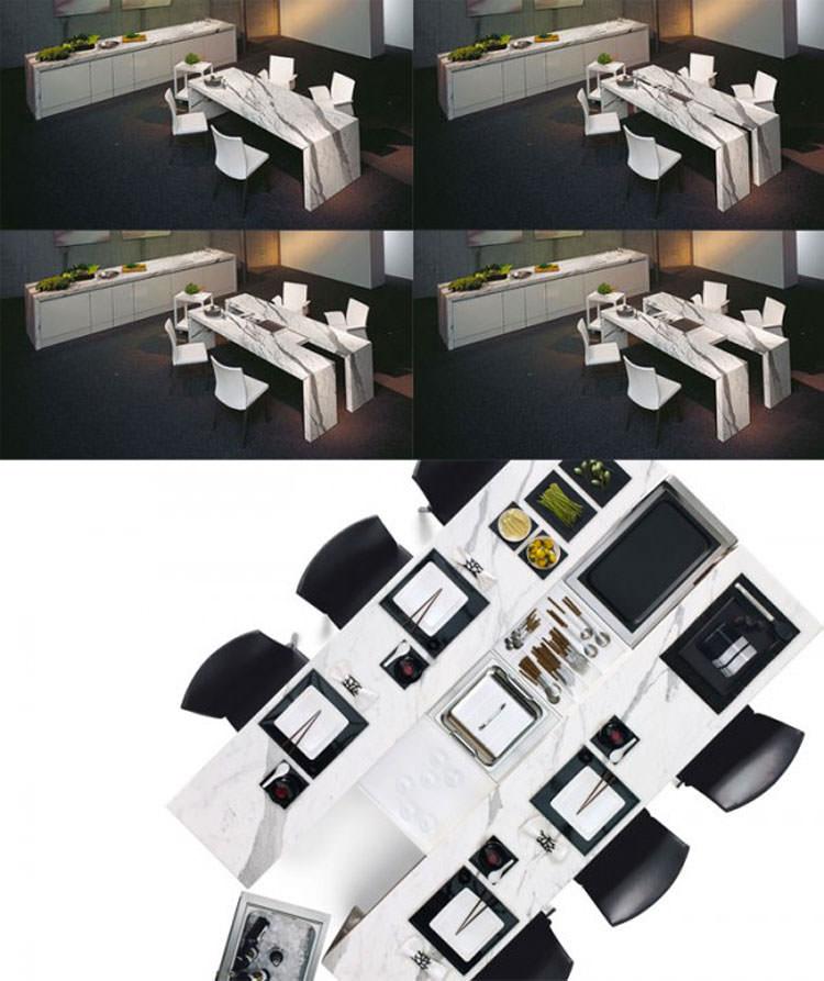 Tavolo allungabile dal design moderno n.22