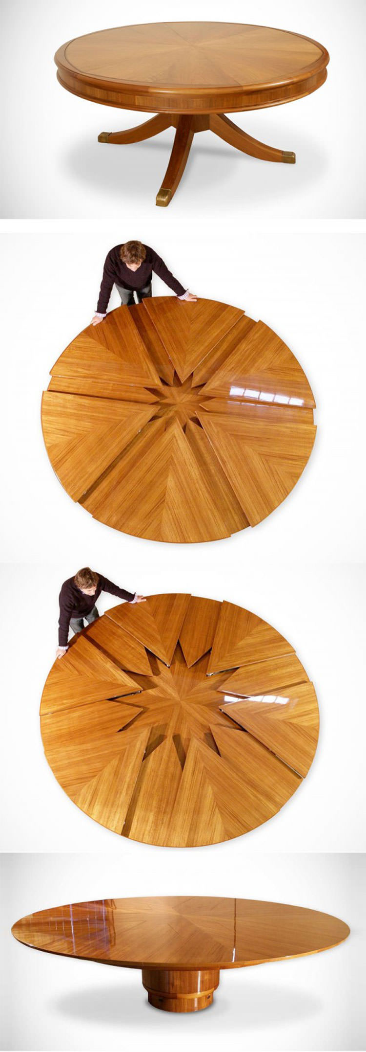 Tavolo allungabile dal design moderno n.29